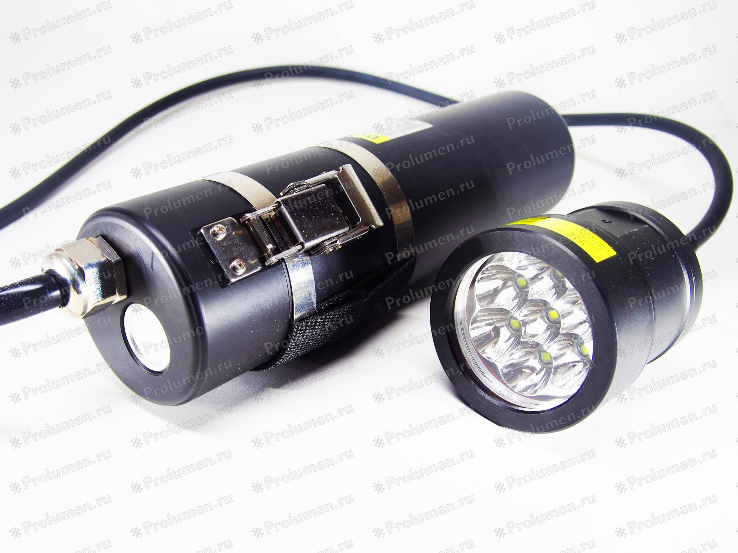 Подводный светодиодный фонарь своими руками